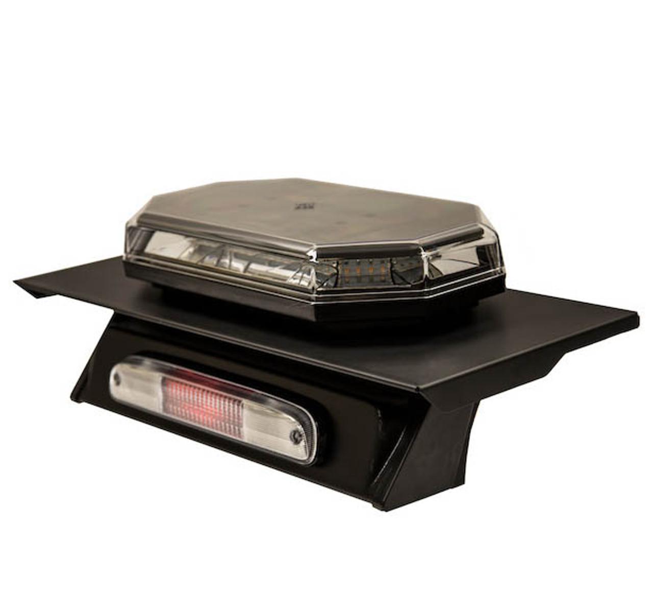 8895150 --- Fleet Series Drill-Free Light Bar Cab Mount - Aluminum Cabs