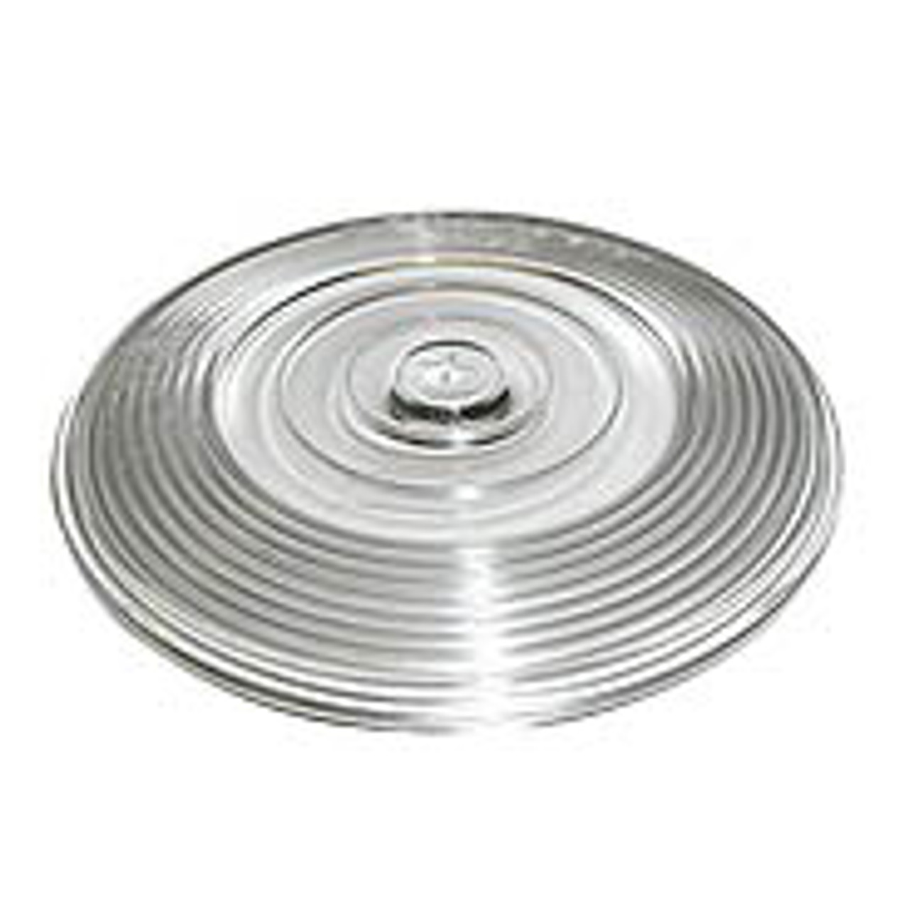 """410-15C --- Peterson Replacement 4"""" Clear Round Lens"""