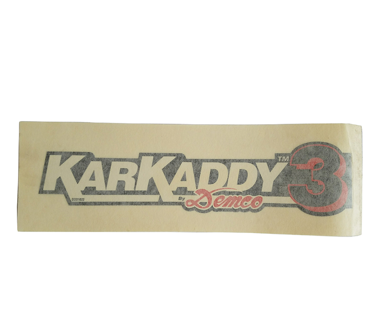 DD21022 --- Demco KarKaddy3 Decal