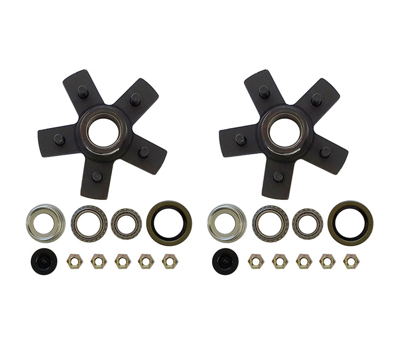 "550UHIEZ --- 5 on 5"" Hub Assembly - Pair"