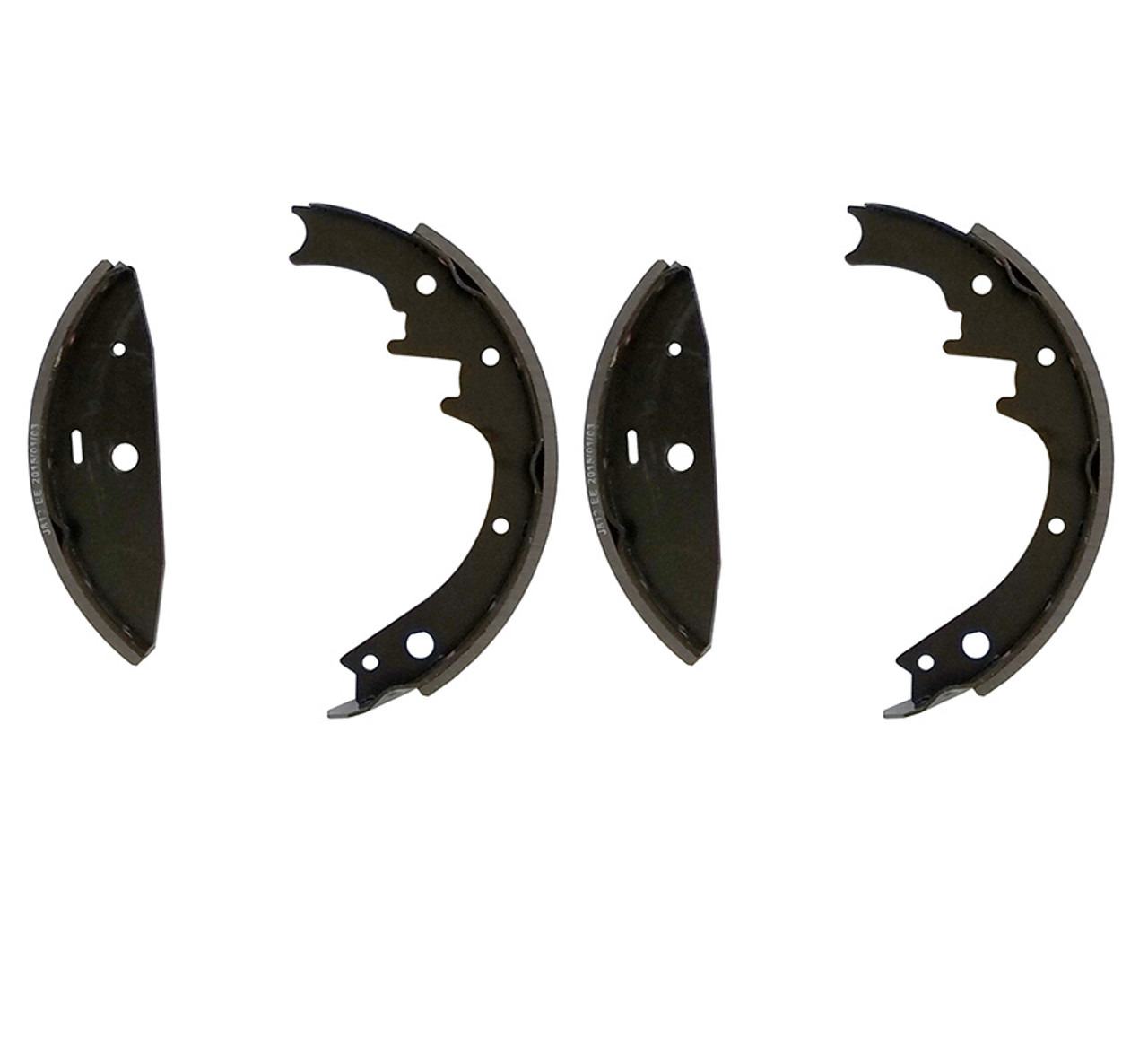 "7812 --- Shoe & Lining Kit for 10"" Hydraulic Free Backing Brakes"