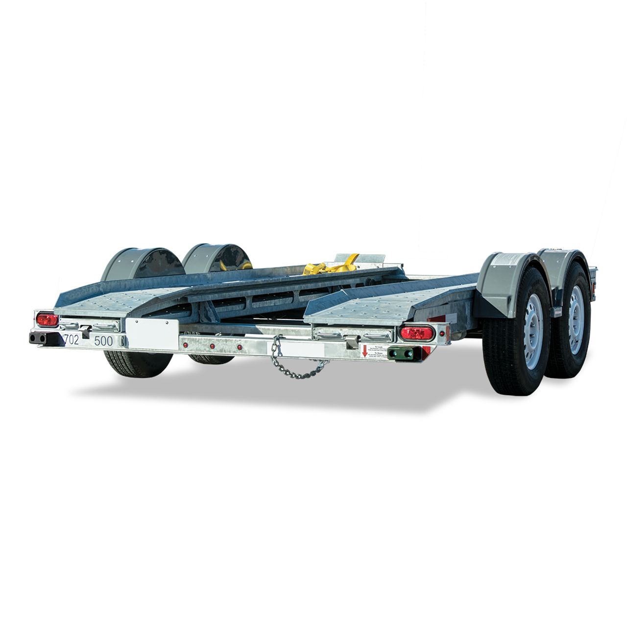 AT7000C --- CROFT Torsion Axle Auto Transport with Surge Disc Brakes