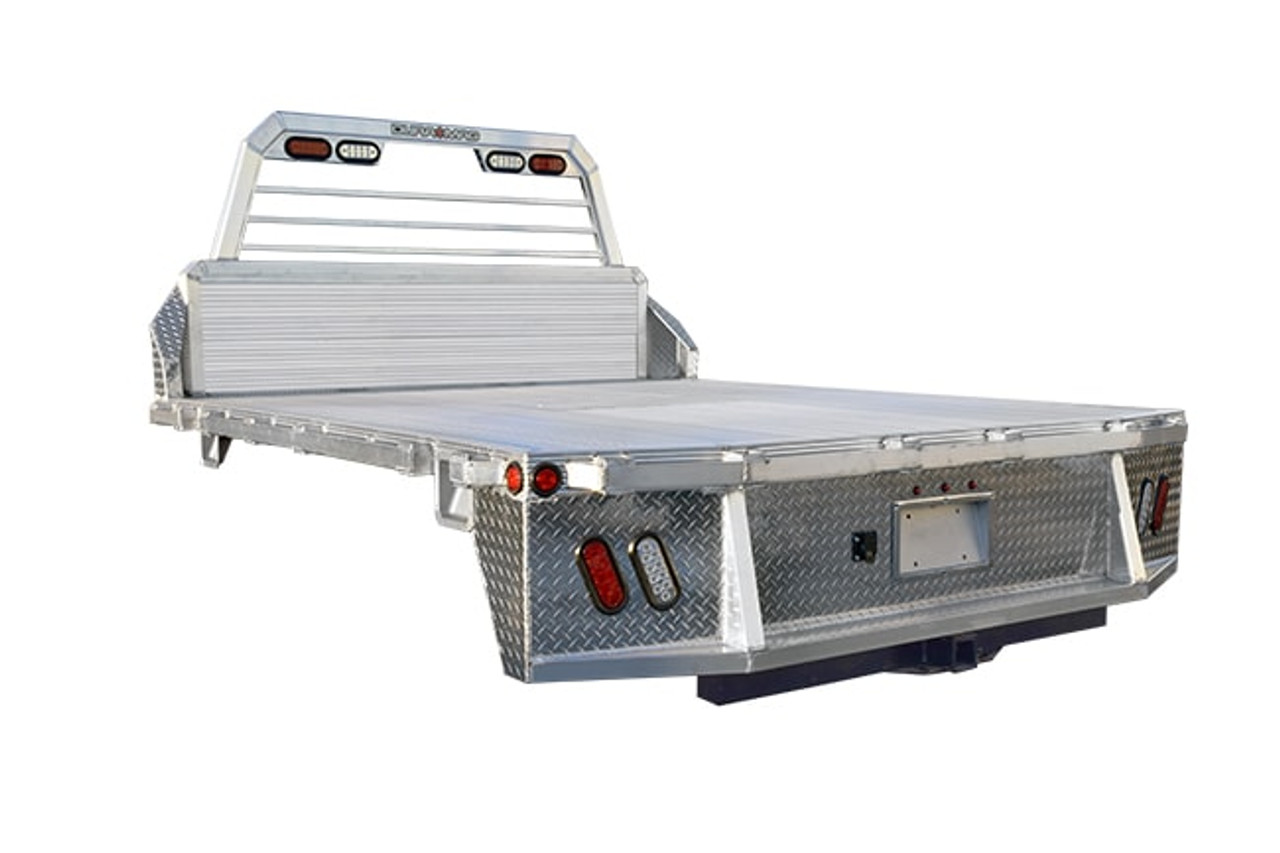 """DR989734CC --- Duramag Aluminum Truck Bed - 9'8"""" X 97"""" - Cab/Chassis"""