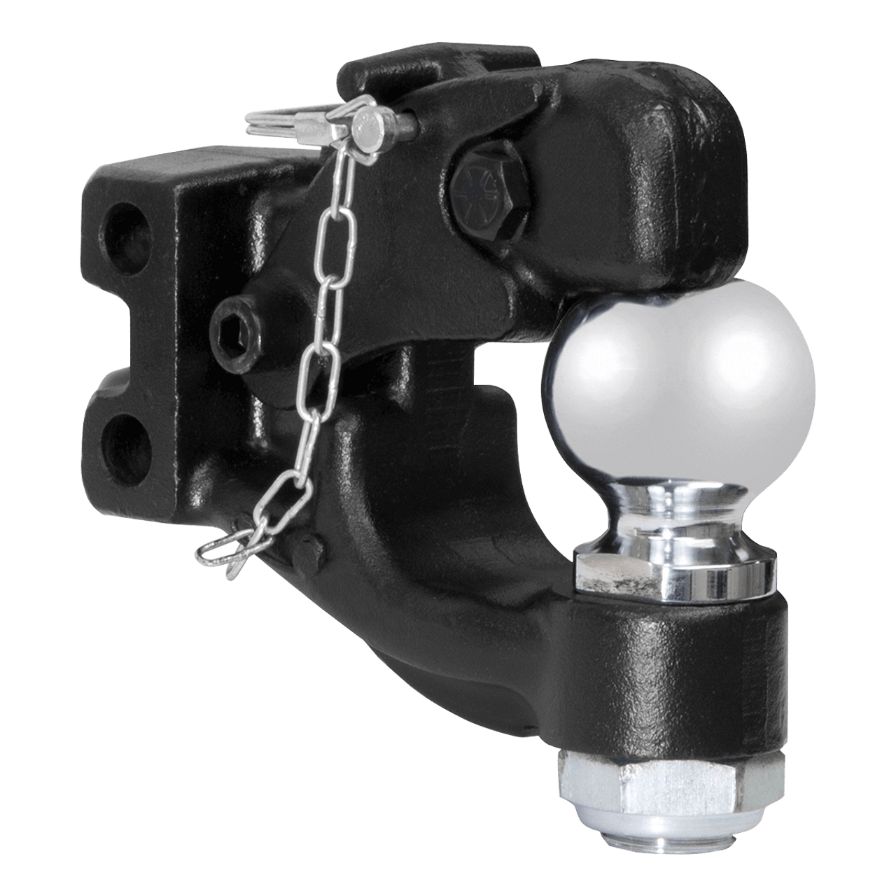 """45919 --- Channel Mount 2"""" Ball & Pintle Combination"""