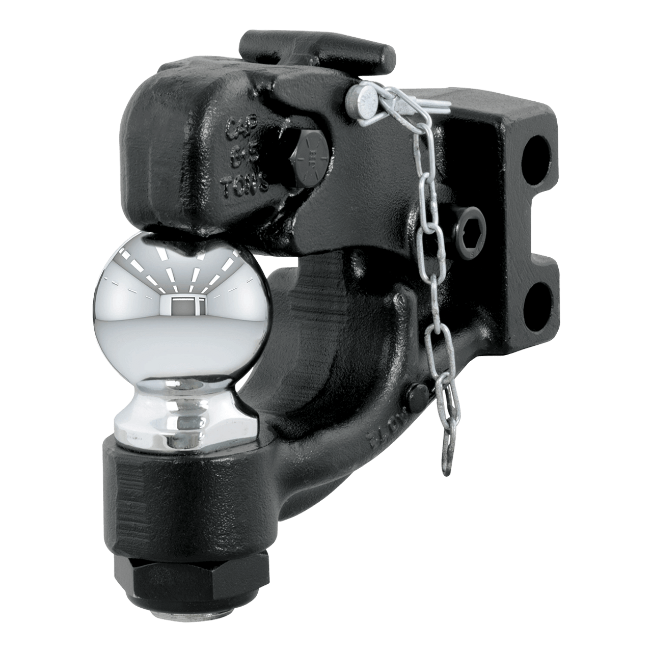 """45922 --- Channel Mount 2-5/16"""" Ball & Pintle Combination - 20,000 lb"""