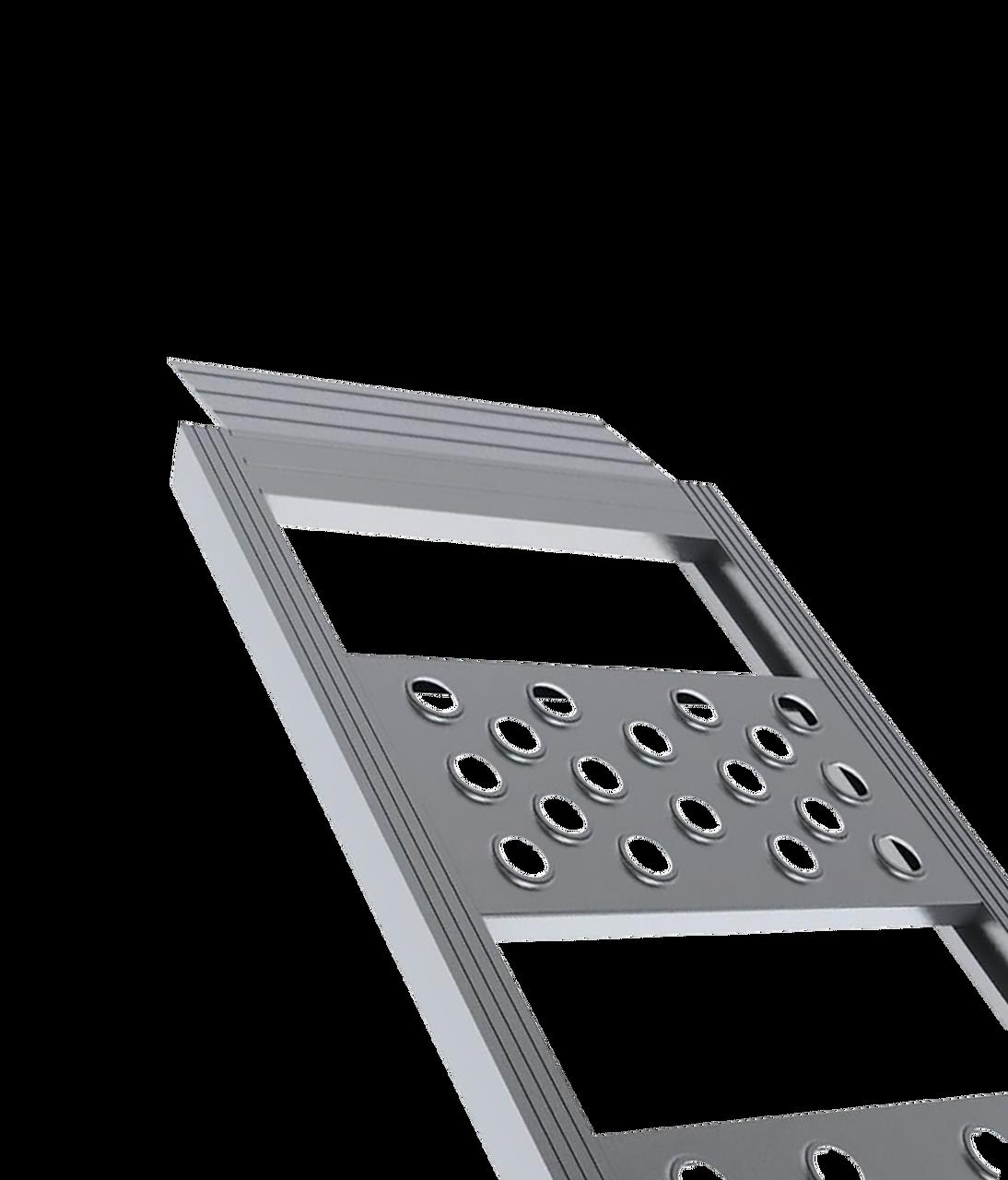 95151DT ---  Aluminum Loading Ramps - Straight