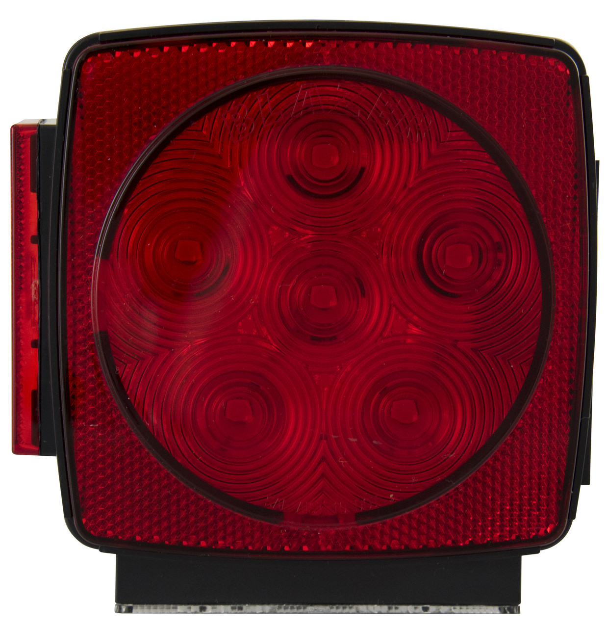LED440LR6 --- Square Combination Sealed Submersible LED Left Tail Light and Side Marker