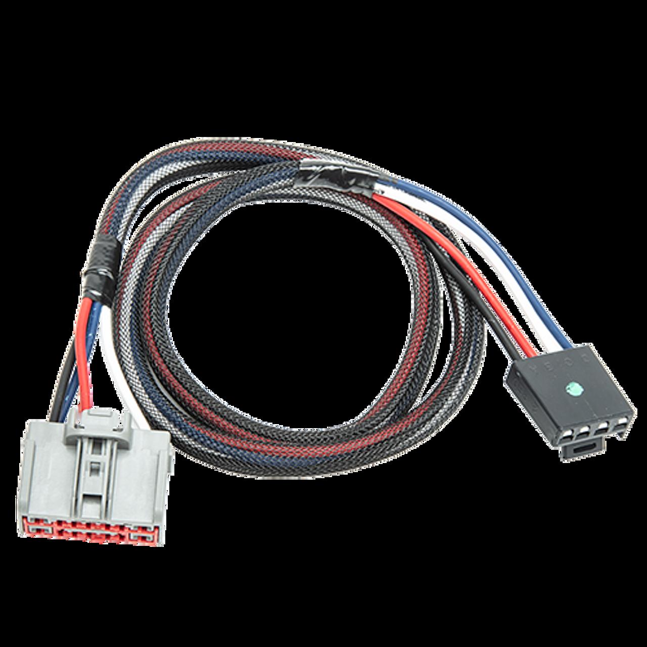 3064 --- Tekonsha & Draw-Tite Brake Control Dual Plug Wiring Harness