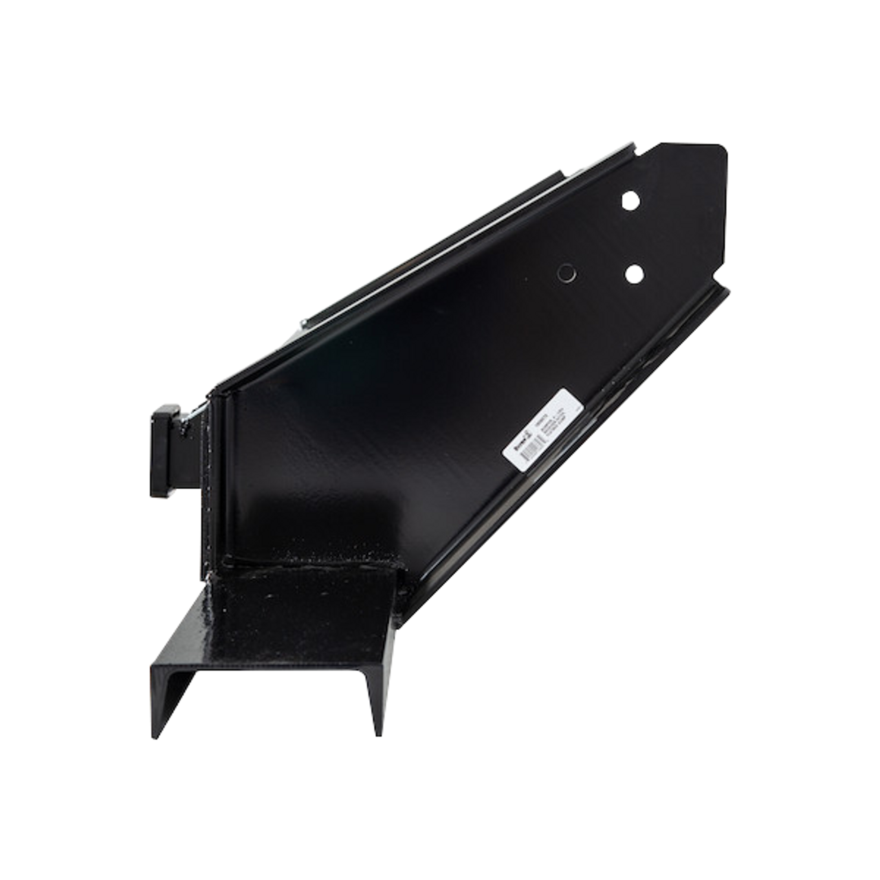 """1809070 --- Flatbed Dump Hitch Bumper with 2-1/2"""" Receiver Tube"""
