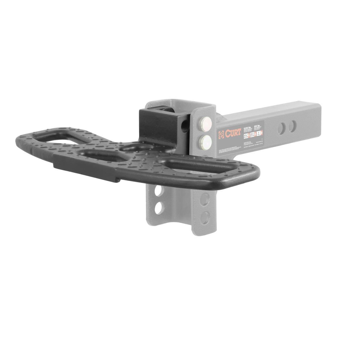 45909 --- Adjustable Channel Mount Hitch Step