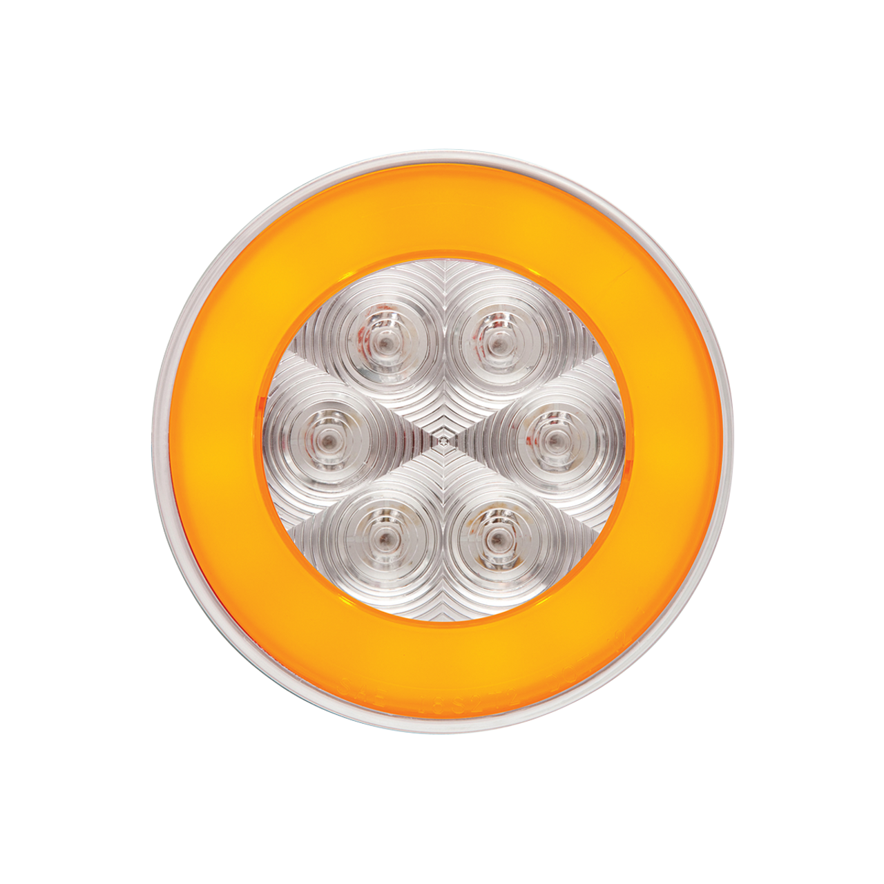 STL101ACBP --- Glolight Round Sealed LED Amber Parking and Rear Turn Signal