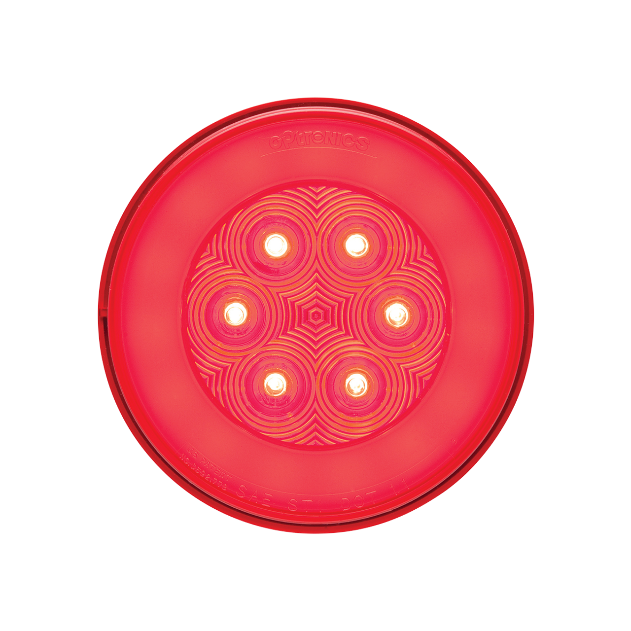STL101RBP --- Glolight Round Sealed LED Red Stop/Turn/Tail Light