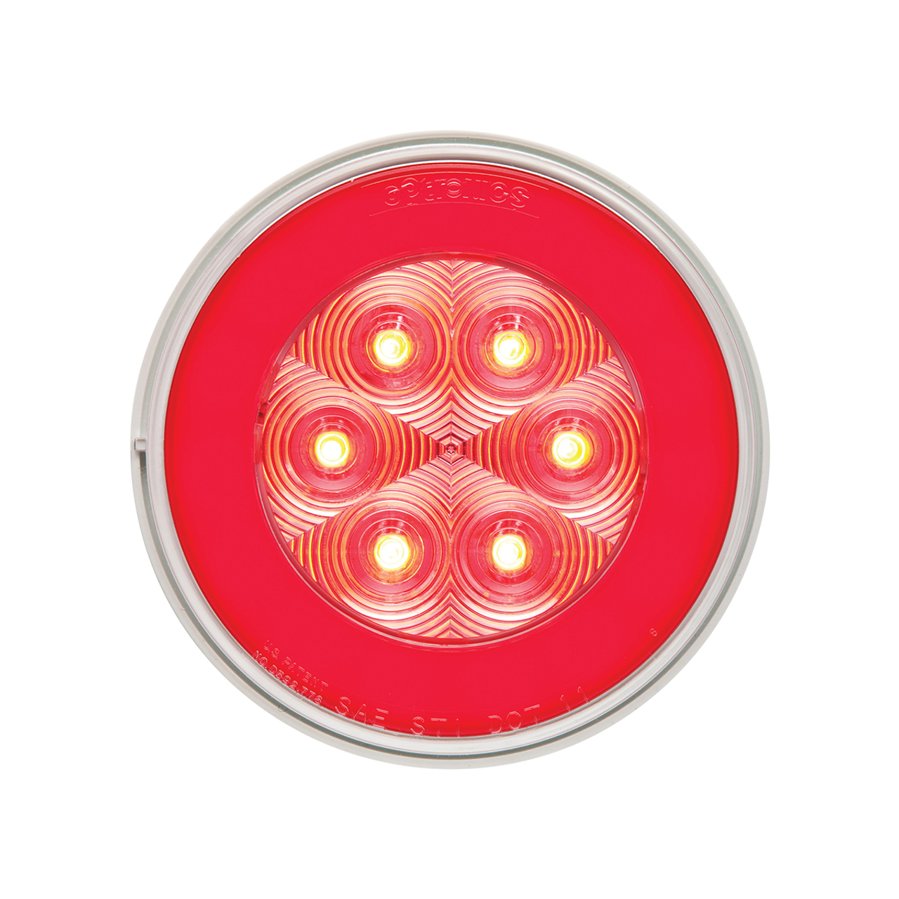 STL101RCBP --- Glolight Round Sealed LED Red Stop/Turn/Tail Light