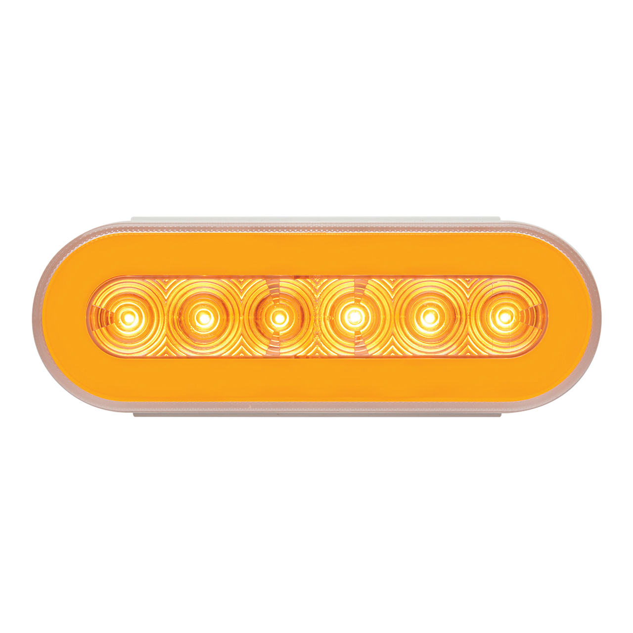 STL111ACBP --- Glolight Oval Sealed LED Amber Parking and Rear Turn Signal