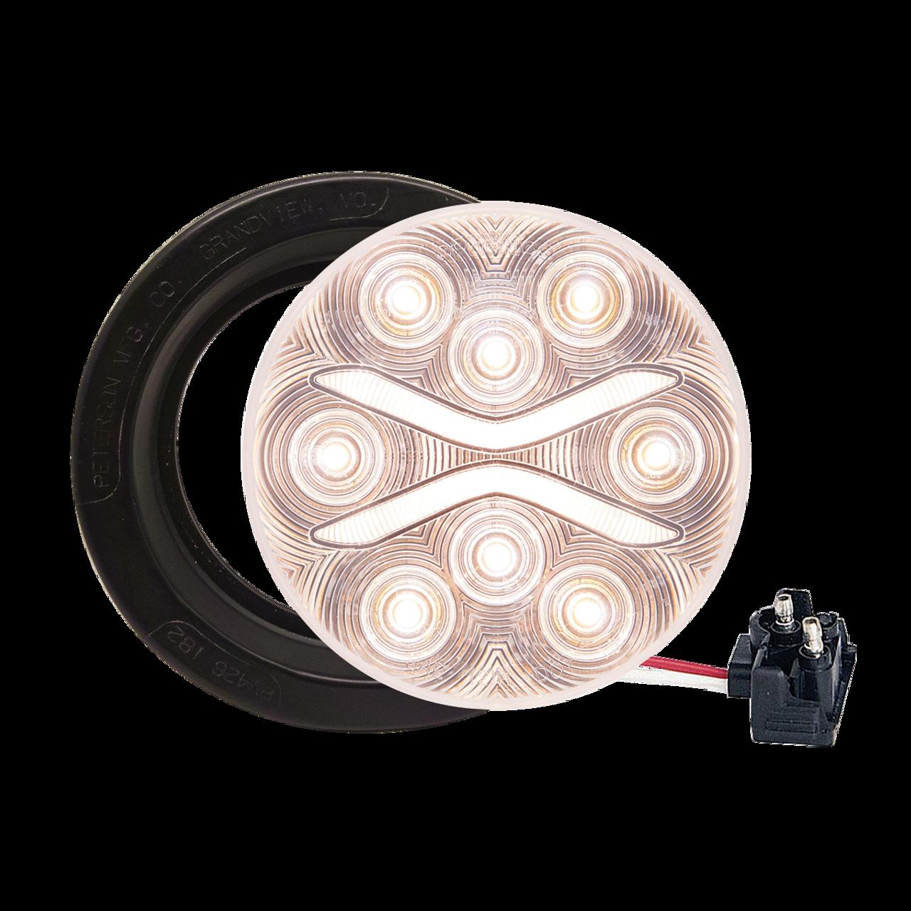 BUL603KCBP --- Round Sealed LED Clear Back-Up Light Kit