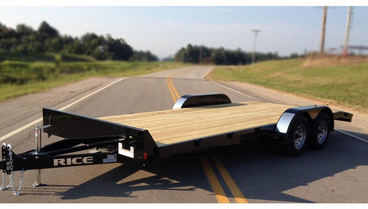 "RCH8218 --- 82"" x 18' Beavertail Car Hauler"