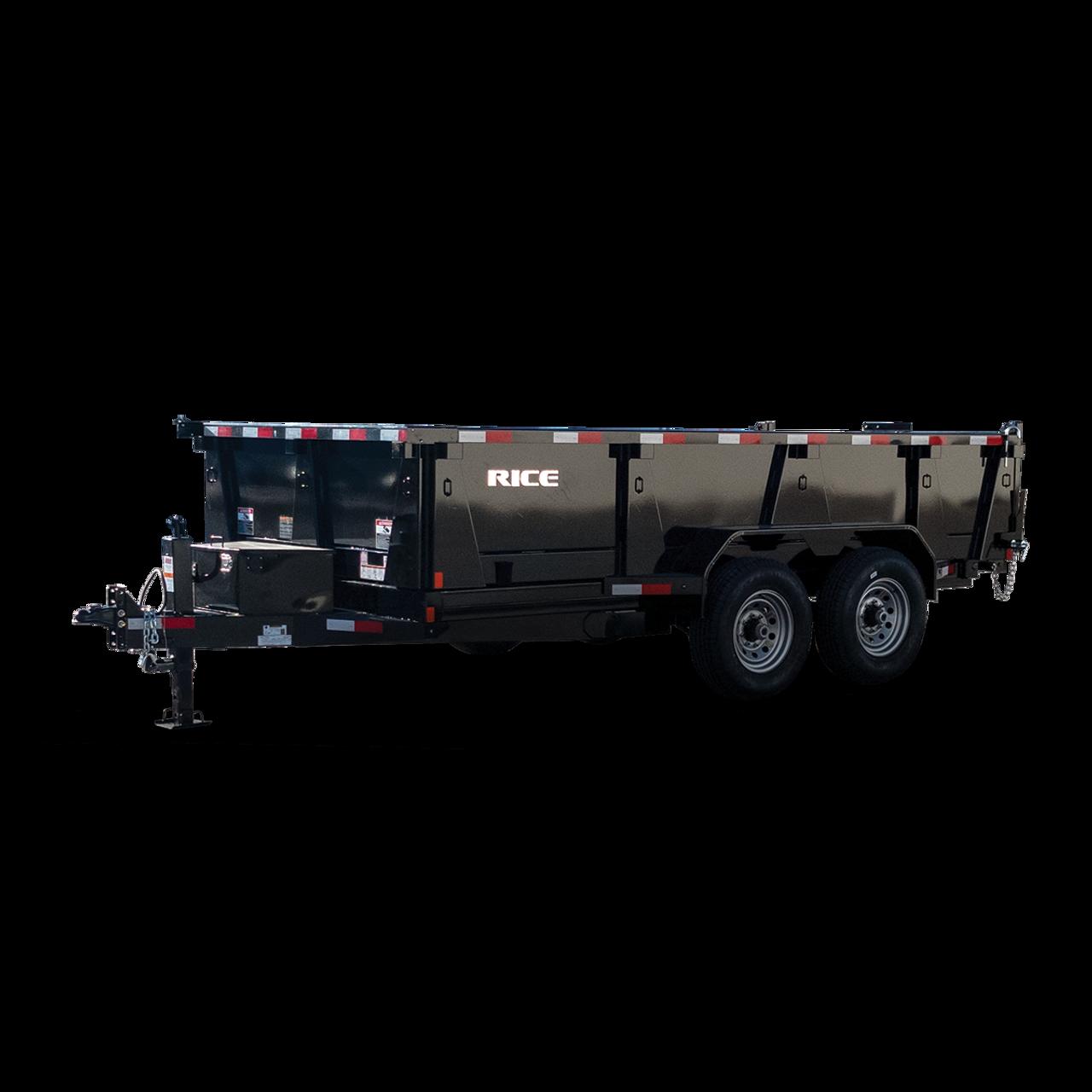 "RD8214TA5 --- 82"" x 14' Dump Trailer"