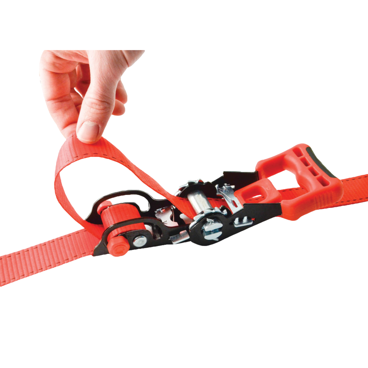 31425 --- Sliding Ratchet Tie Down Strap with S Hook End Fittings - 14'