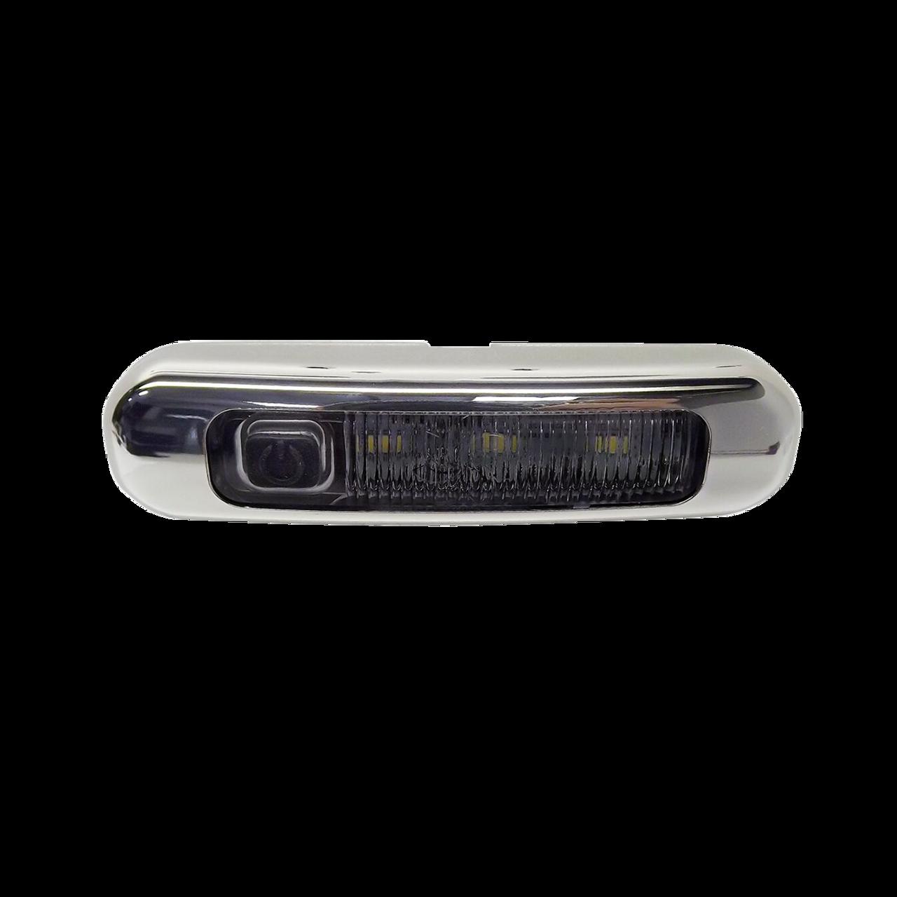 LEDE05C3 --- LED Interior Light w/Chrome Bezel