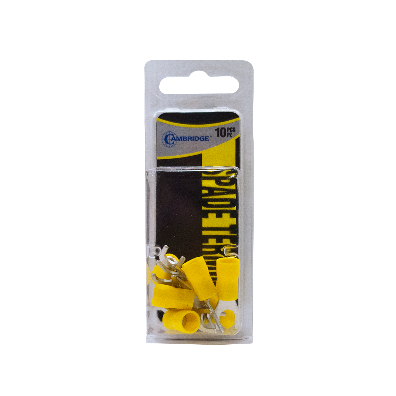 T12858 --- Yellow Spade Terminal Package - #10