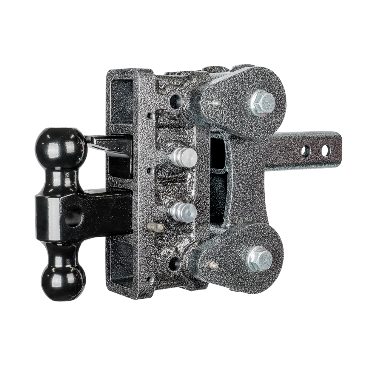 GH-1024 --- Four Position Torsion Flex Offset Shank with Dual Ball and Pintle - 10,000 lb Capacity