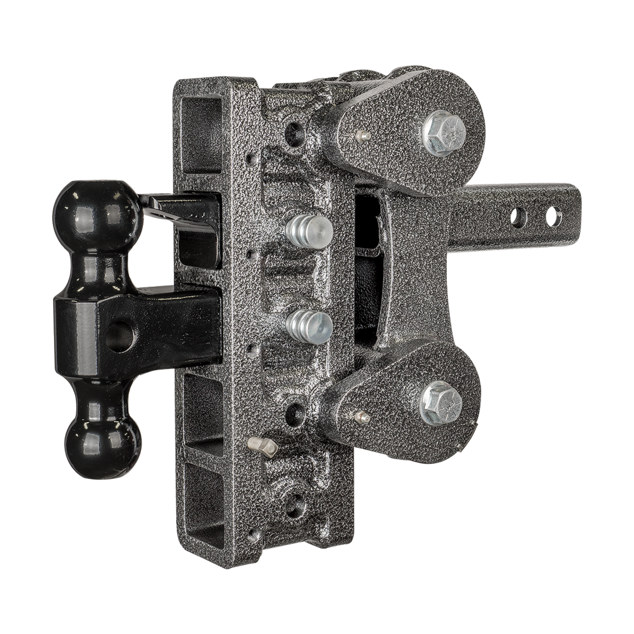 GH-1025 --- Five Position Torsion Flex Offset Shank with Dual Ball and Pintle - 10,000 lb Capacity
