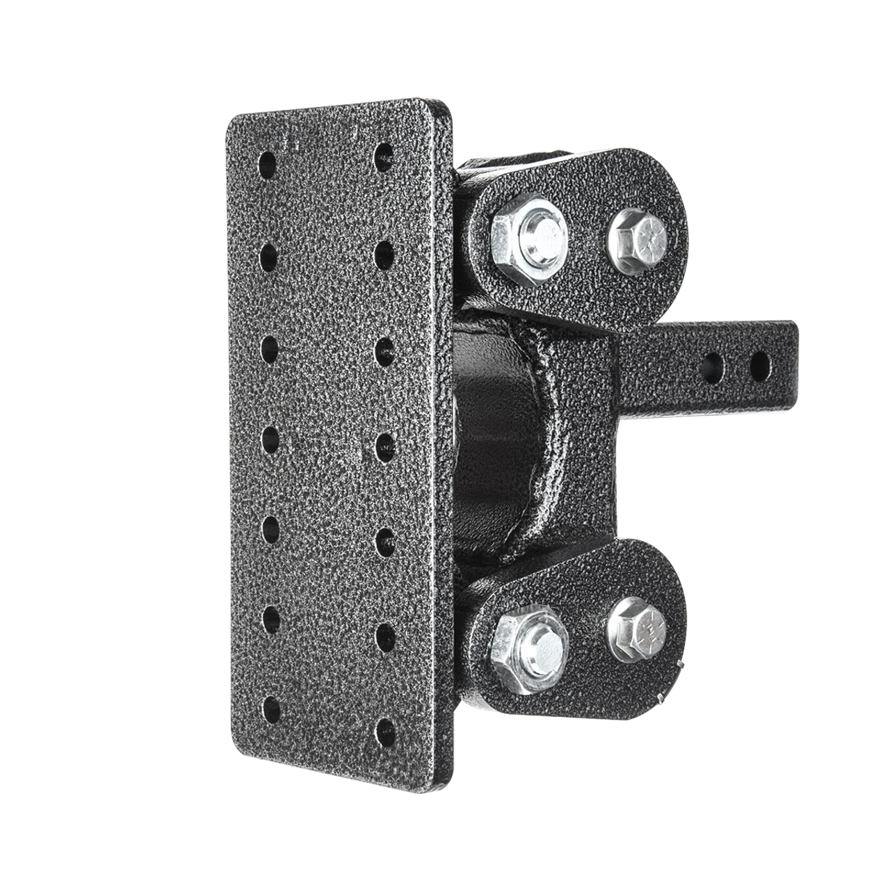 "GH-1301 --- 2.5"" Receiver Mounted Torsion Flex Pintle Plate - 21,000 lb Capacity"