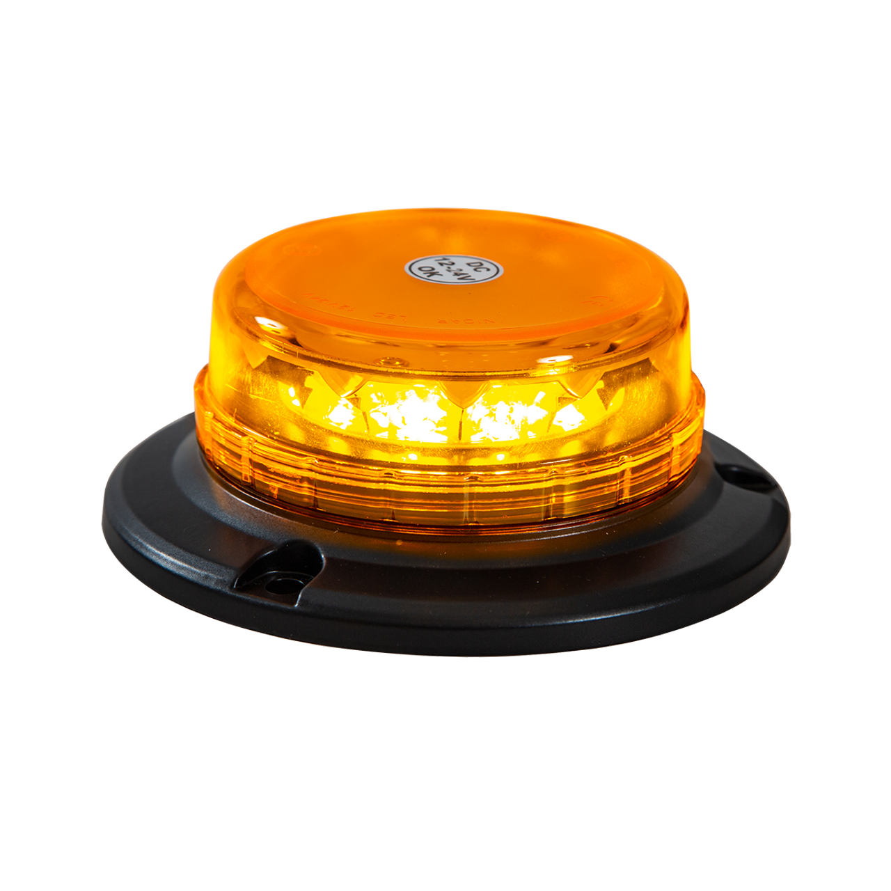 SL550ALP --- Amber LED Magnetic Beacon with Auxiliary Plug