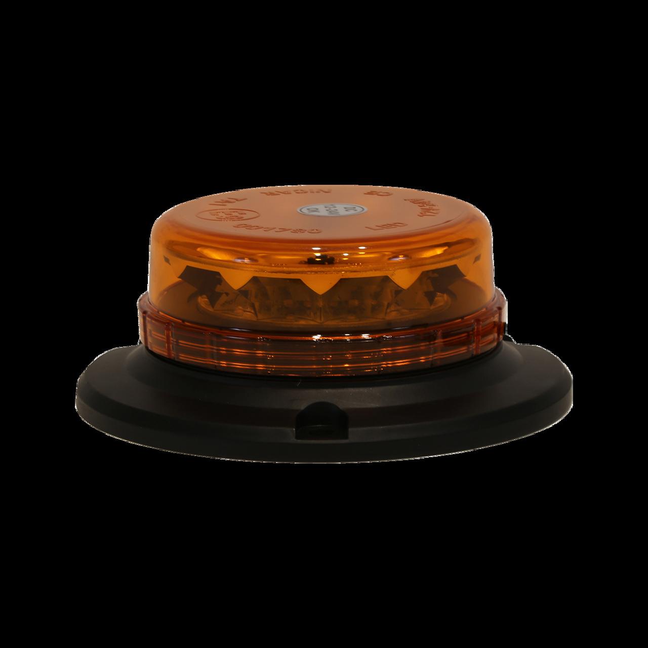 SL551ALP --- Amber LED Magnetic Beacon Permanent Mount