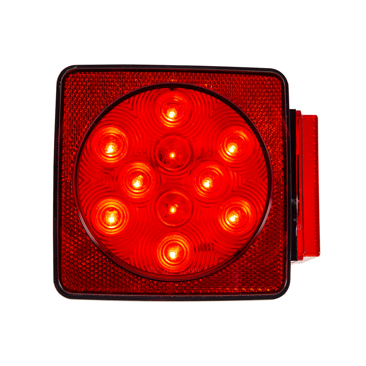 LED440R11 --- Square Combination LED Right Tail Light and Side Marker