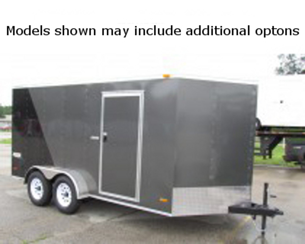 SC10218TA2D --- 8.5' X 18' Enclosed Tandem Trailer with Double Rear Doors - Bravo