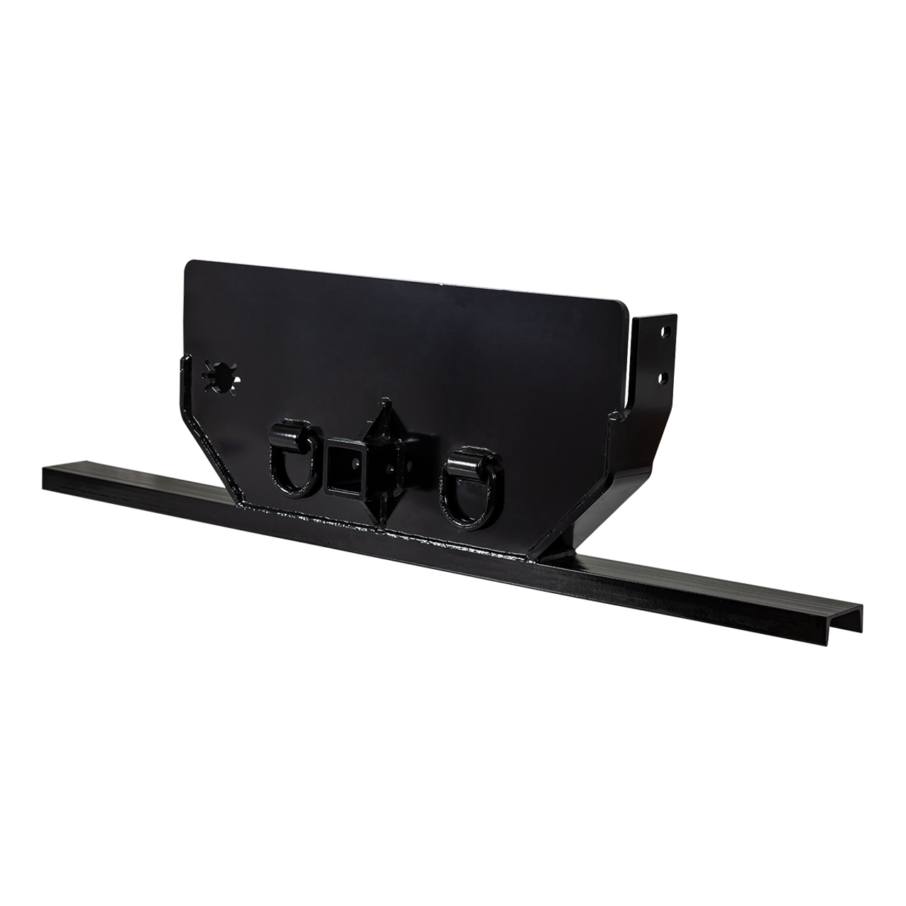 """1809077 --- Hitch Plate with 2-1/2"""" Receiver Tube for Dodge/RAM"""