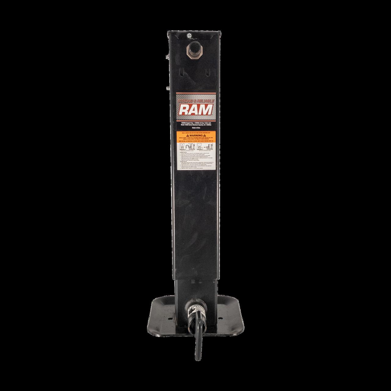 RAM15000SL --- RAM Drop Leg Sidewind Trailer Jack - 12,000 lb