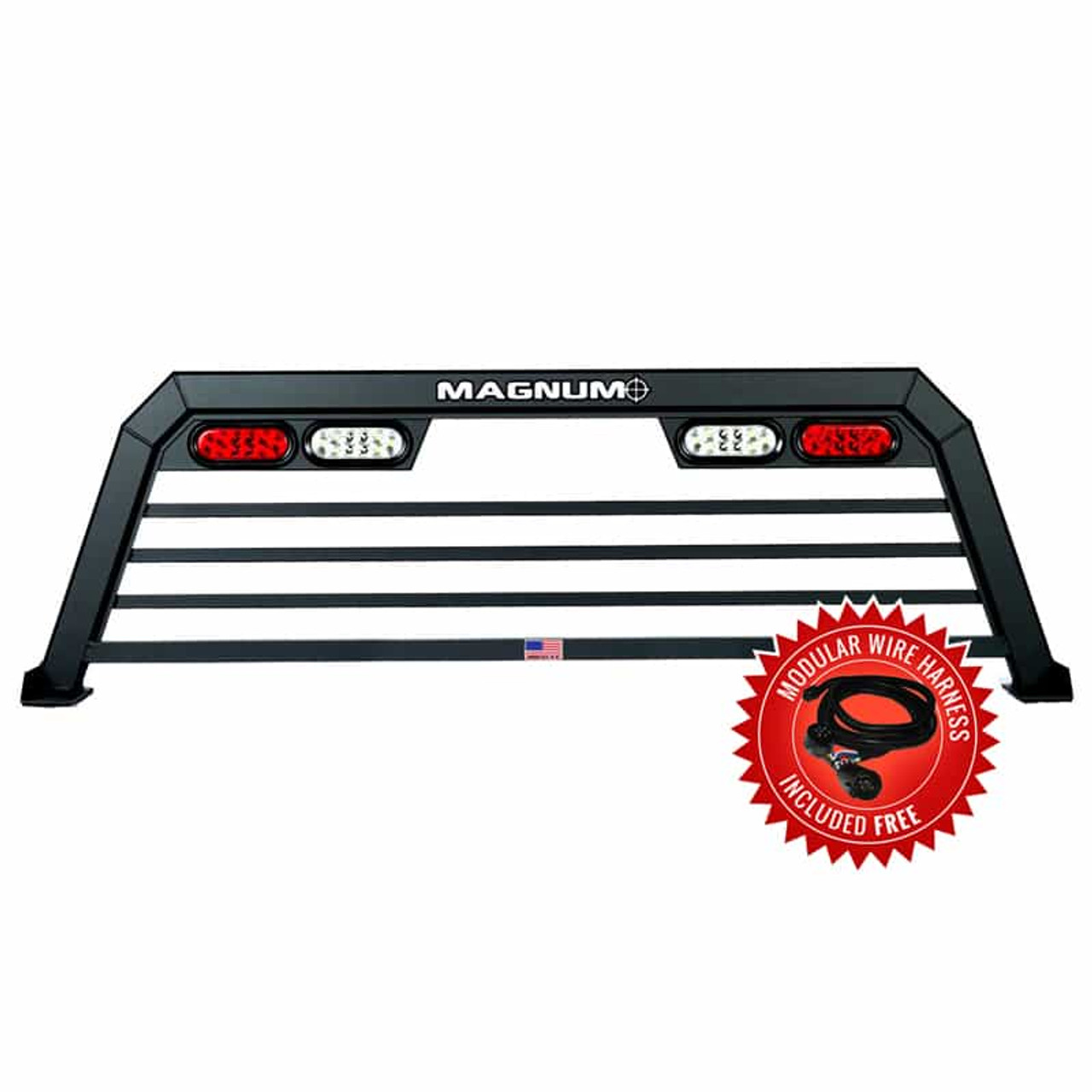 Truck Rack with Lights - Low Pro