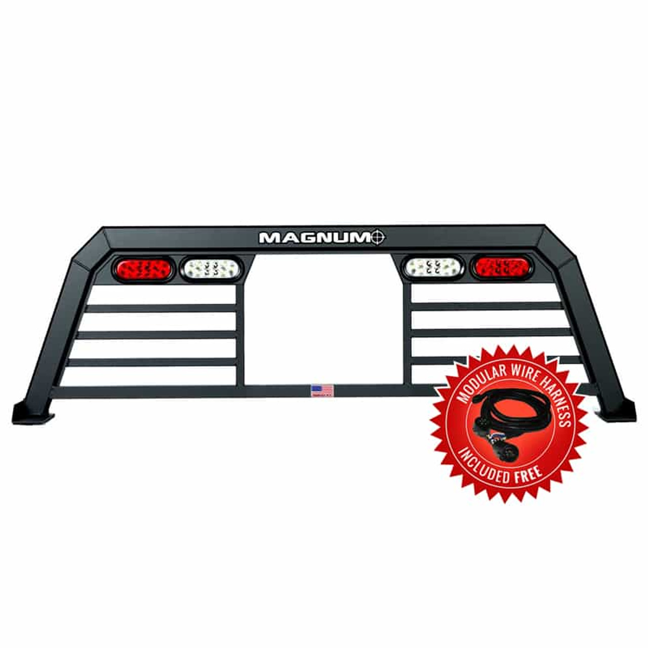 Track Rack with Window Cut Out & Lights - Low Pro