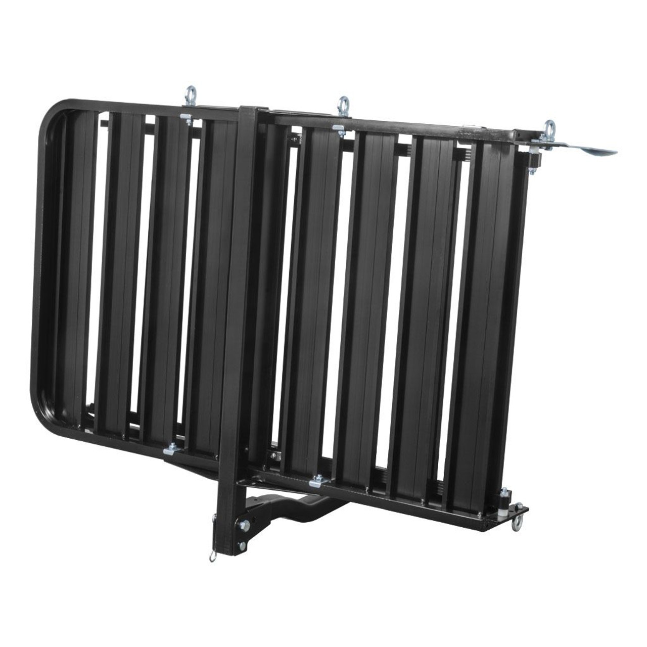 """18112 --- Aluminum Hitch Cargo Carrier with Ramp - 50"""" x 30-1/2"""""""