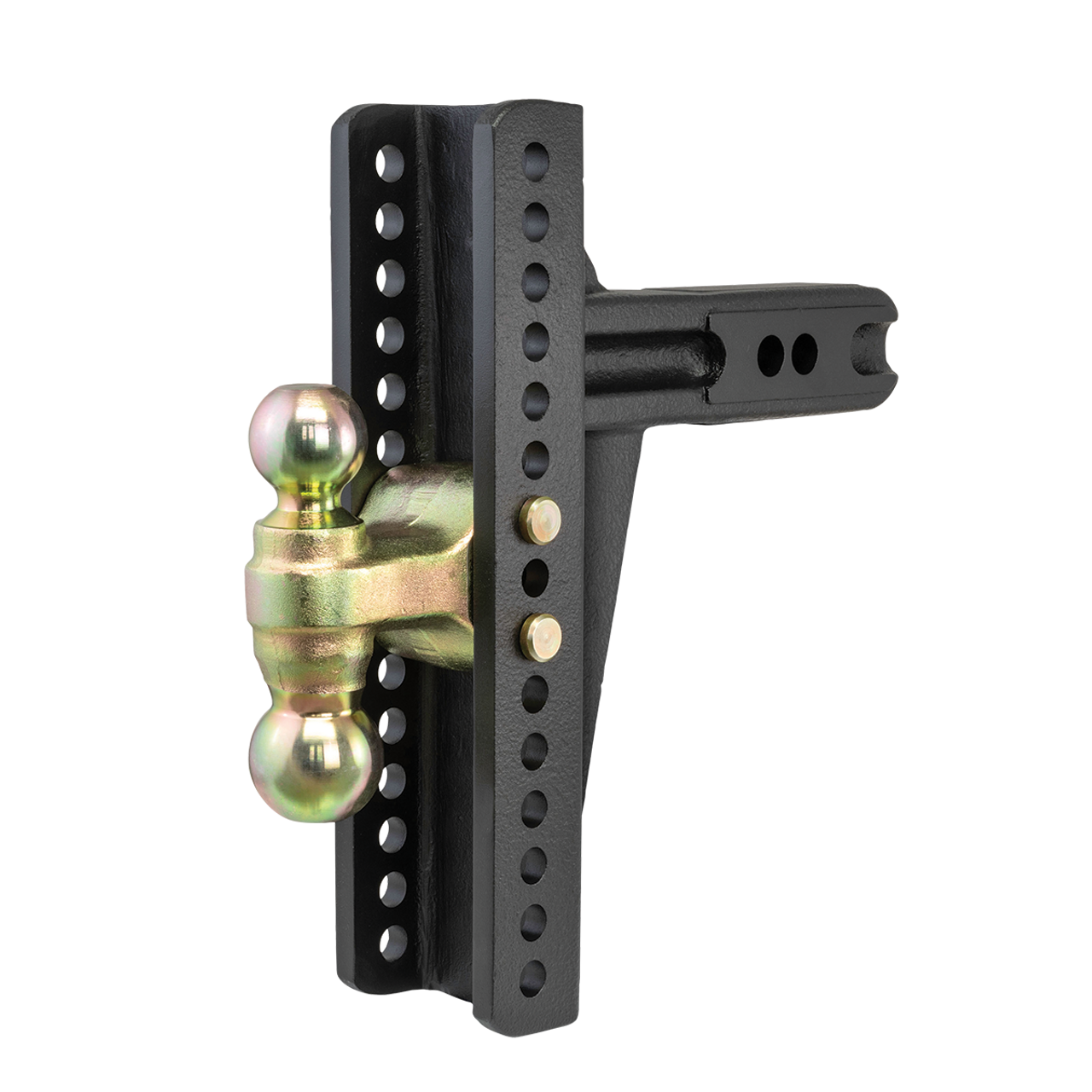 """45927 --- Adjustable Channel Mount with Dual Ball Mount - 2.5"""" Receiver"""