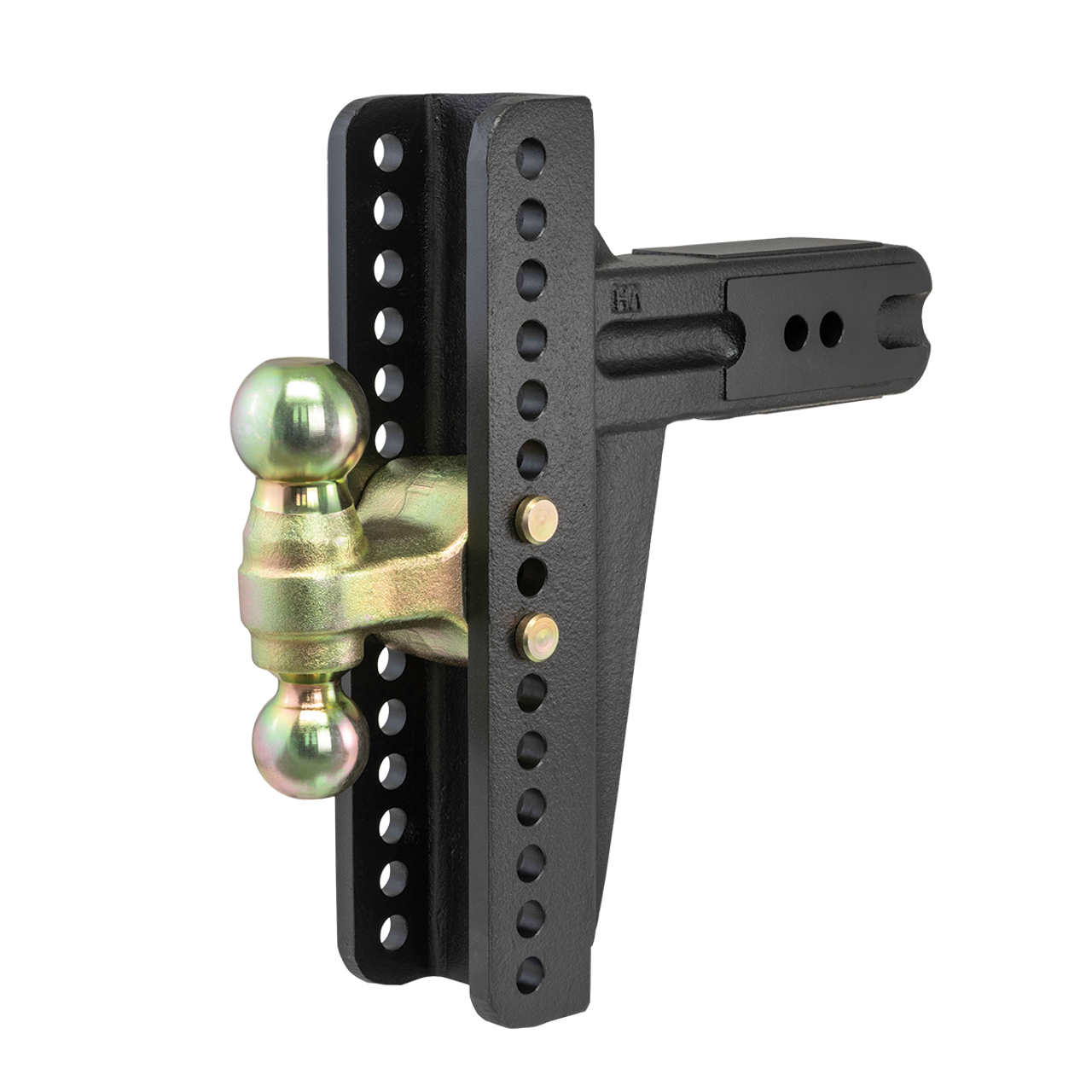 """45928 --- Adjustable Channel Mount with Dual Ball Mount - 3"""" Receiver"""