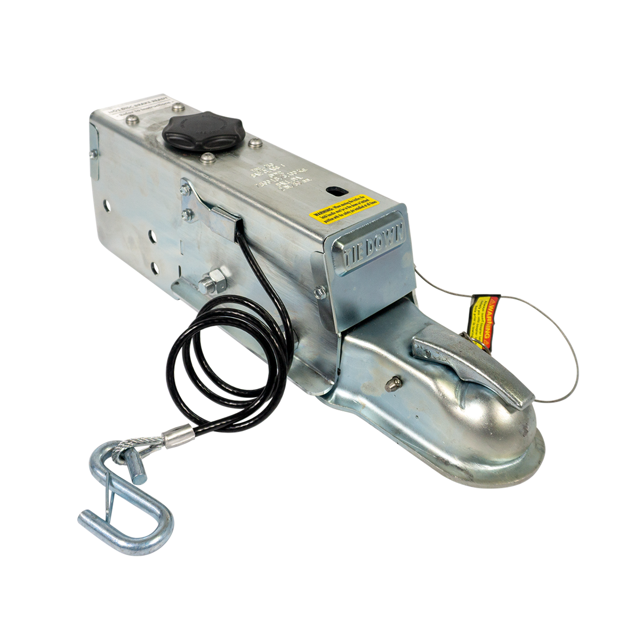 "99-175 --- Hydraulic Brake Actuator with 2"" Coupler - 7,500 lb Capacity - Drum"