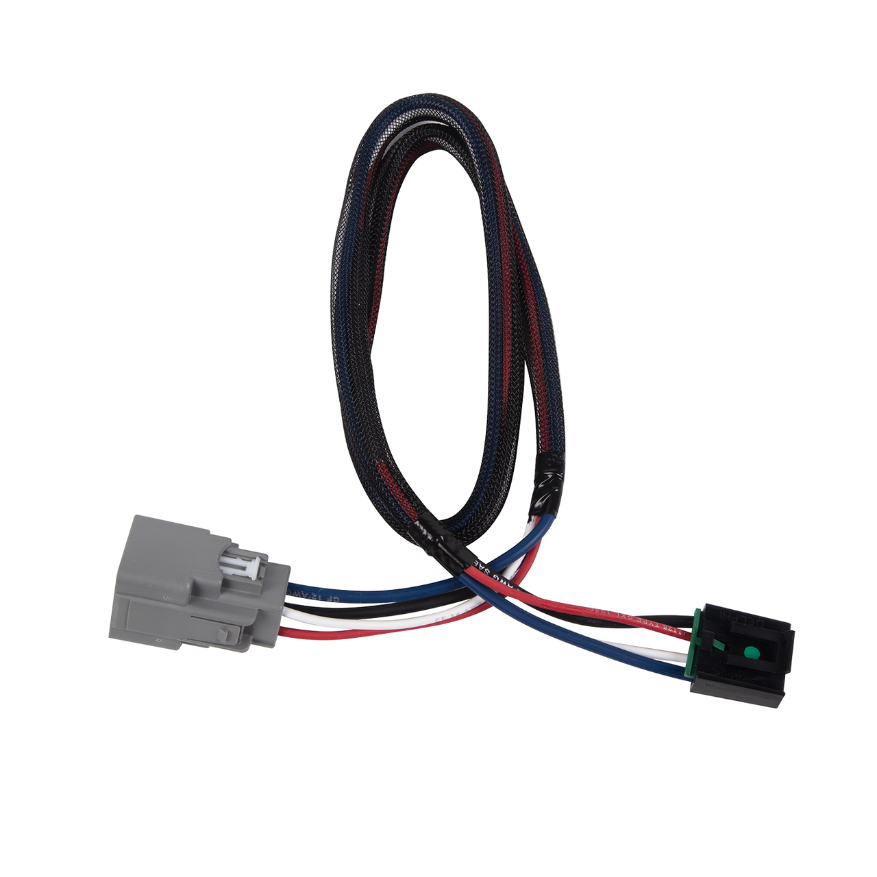 3073 --- Tekonsha Brake Control Dual Plug Wiring Harness - Jeep