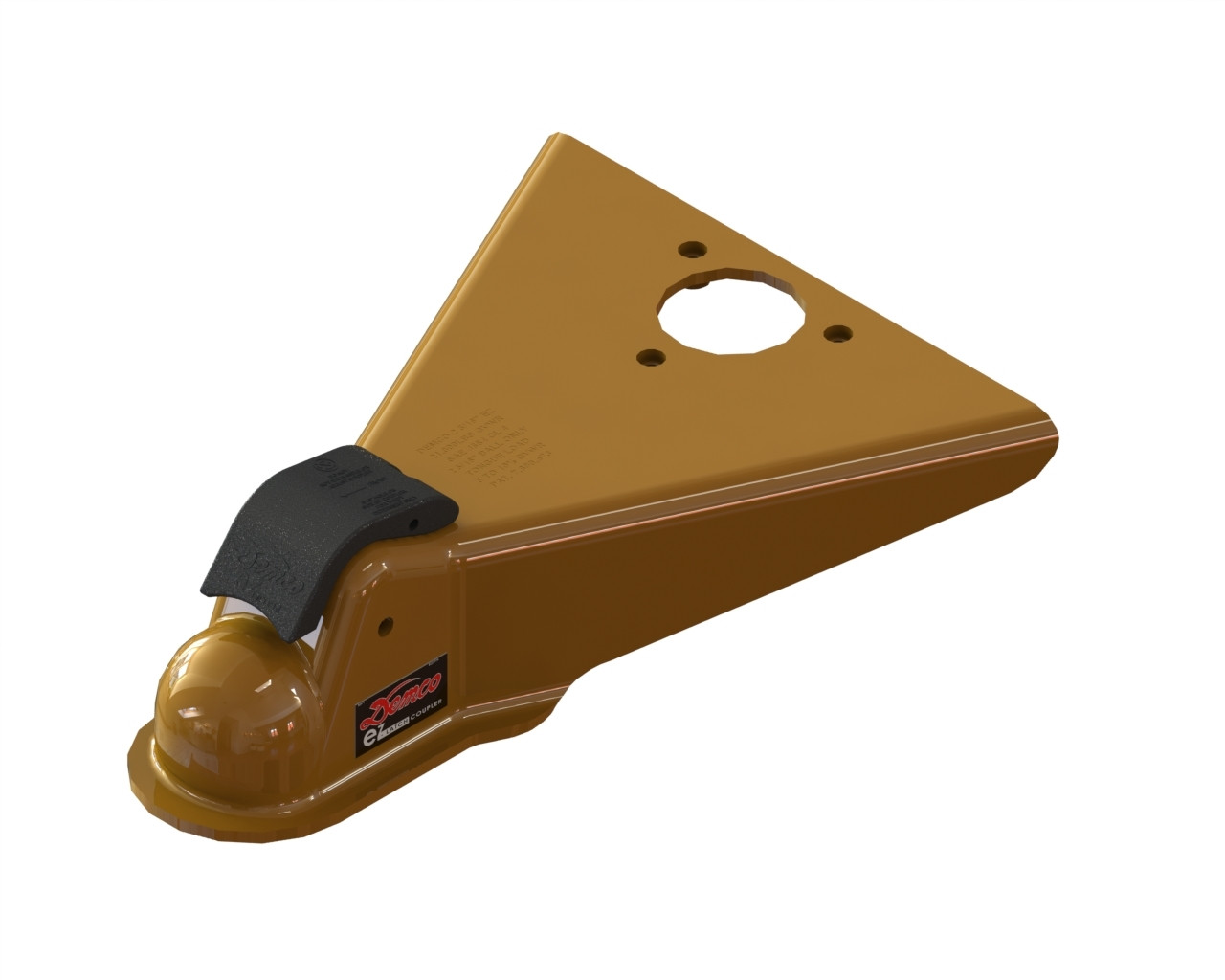 "16399-97 --- Demco eZ-Latch A-Frame Coupler - 12,500 lbs Capacity - 2-5/16"" - Primed"