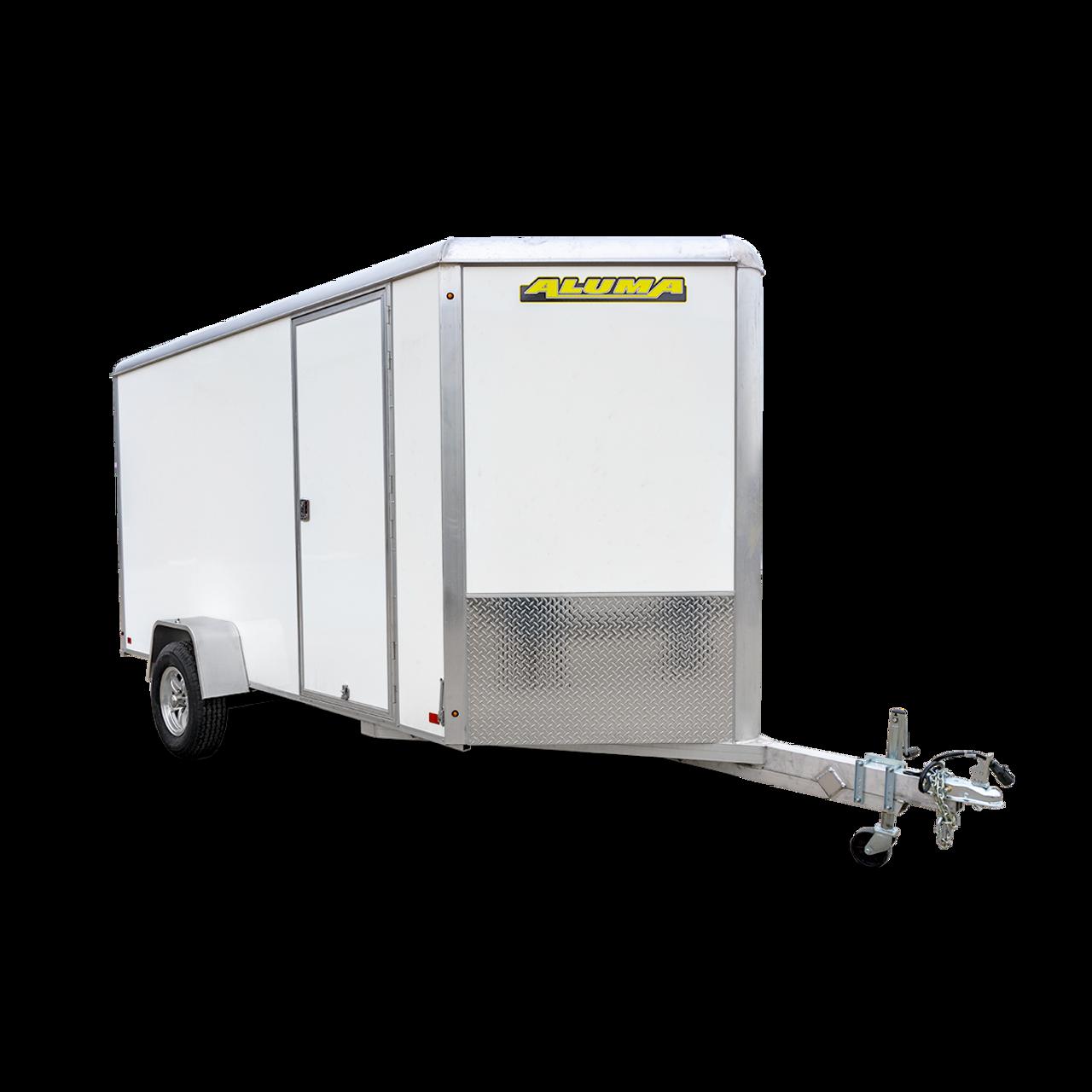 AL612SADRD --- 6' X 12' Enclosed Trailer with Ramp Door - Aluma