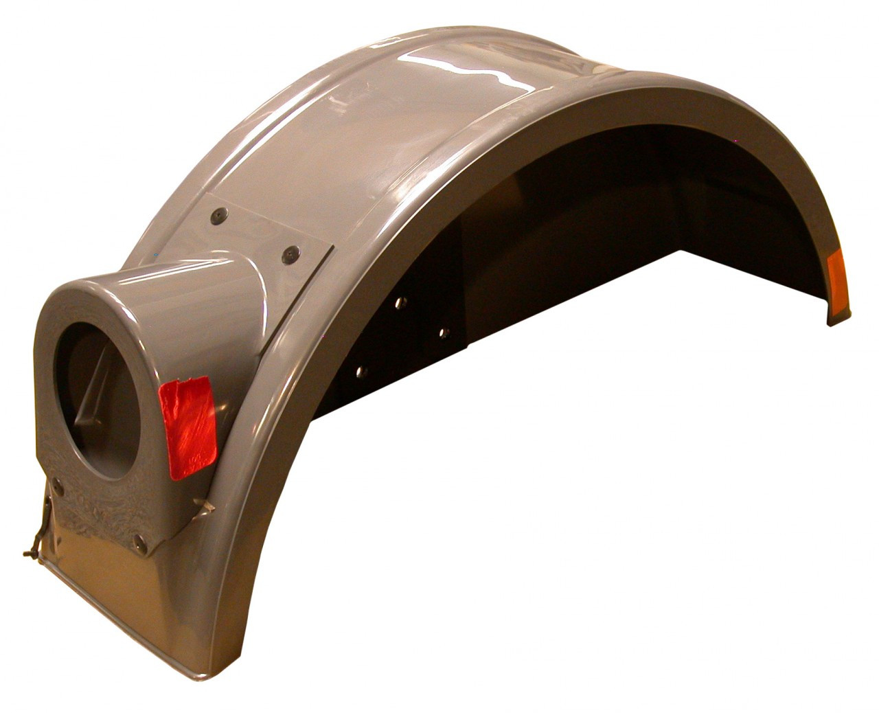 6088 --- Tow Dolly Fender with LED light - Right Side - Grey