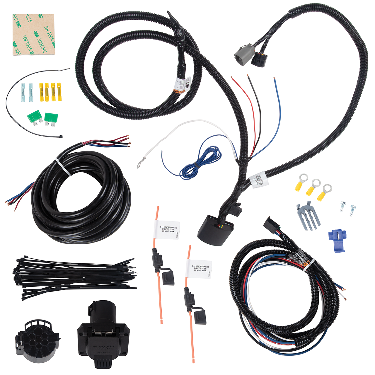 22122 --- Tow Harness, 7 Way Complete Kit