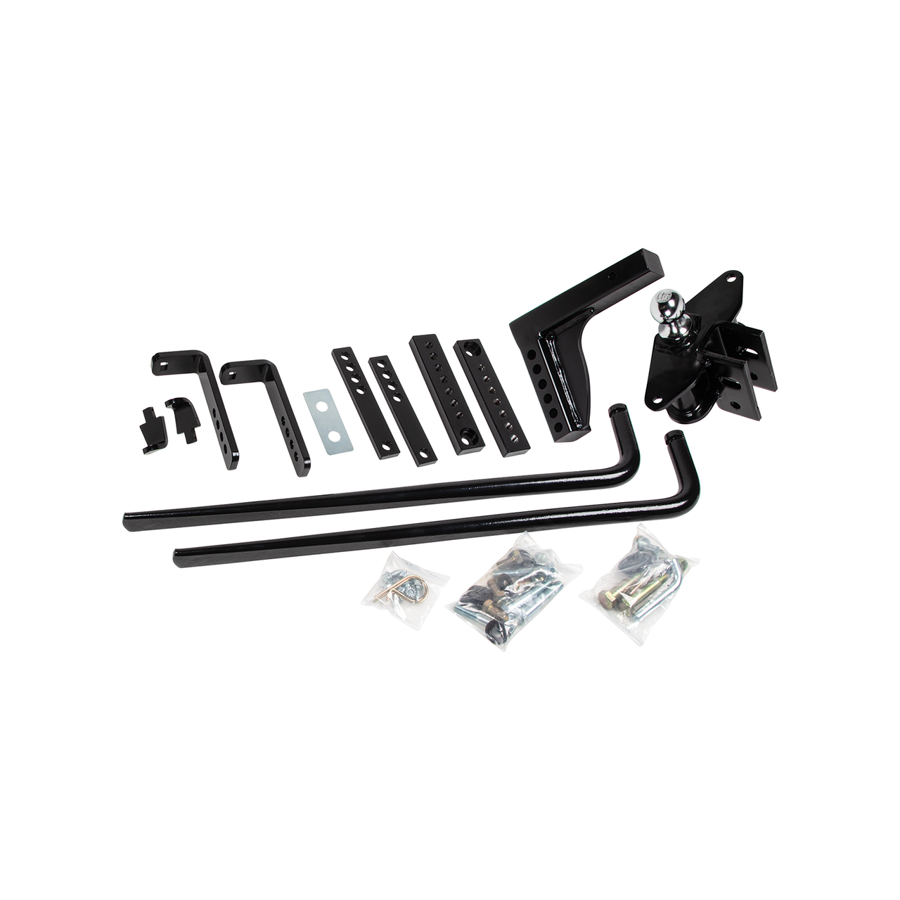 49911 --- Weight Distributing Hitch Kit w/Shank and Sway Control - 6,000lb