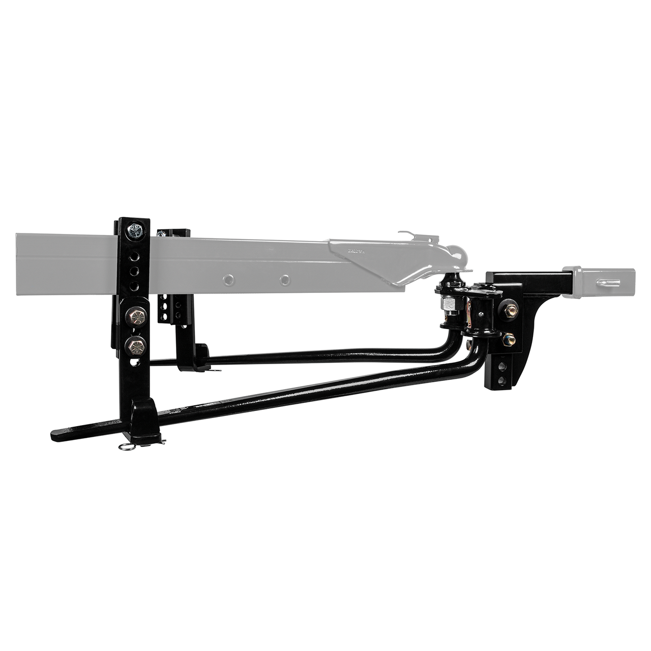 49912 --- Weight Distributing Hitch Kit w/Shank and Sway Control - 8,000lb