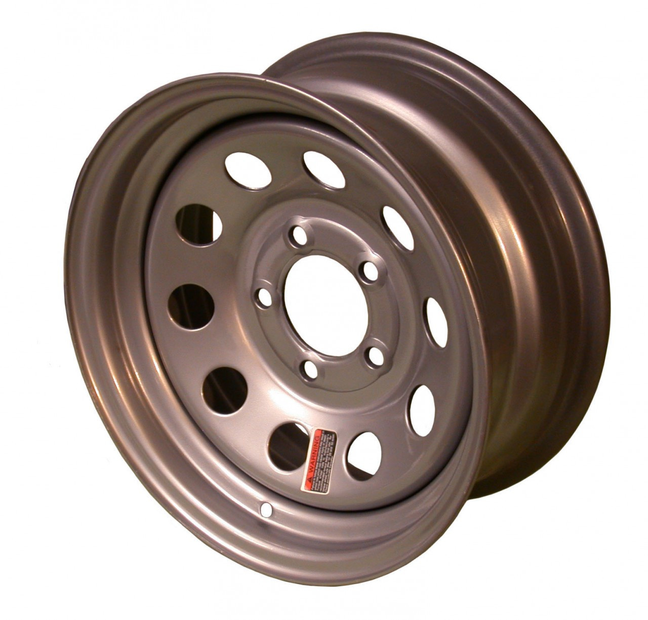 "W13-545SM --- 13"" Trailer Wheel, 5 on 4-1/2"""