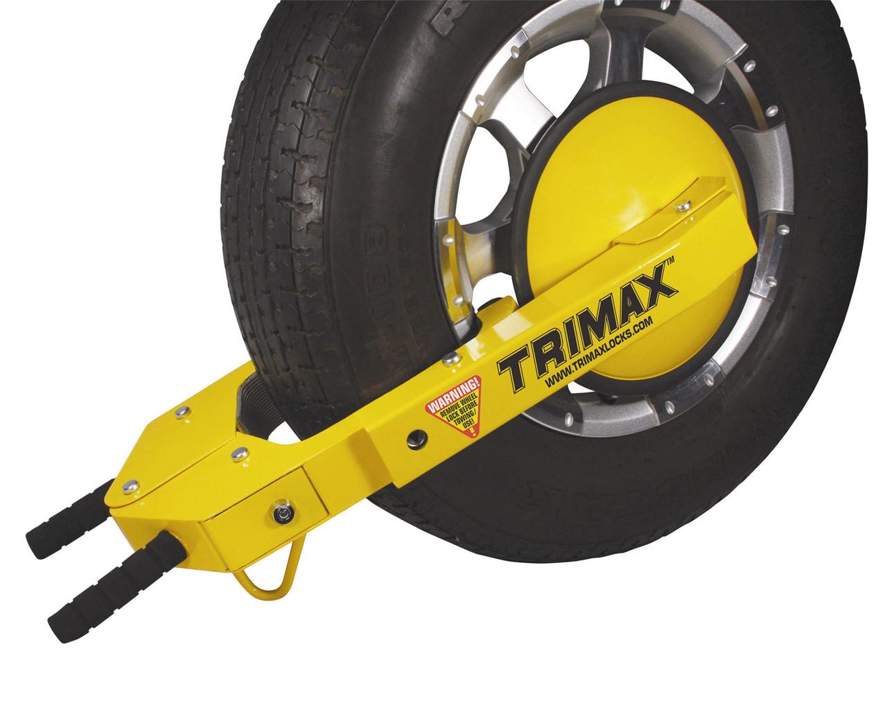 TMWL1018KEYED --- Trimax™ Adjustable Wheel Locks - Keyed Alike