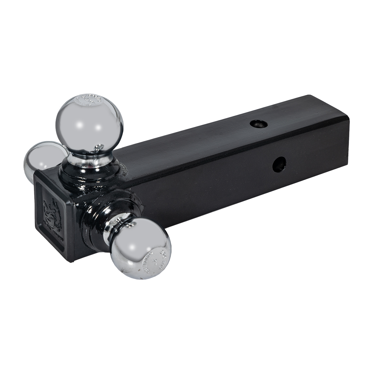 """TBM12-25 --- Tri-Ball Combination for 2.5"""" Receivers with welded Chrome Hitch Balls"""