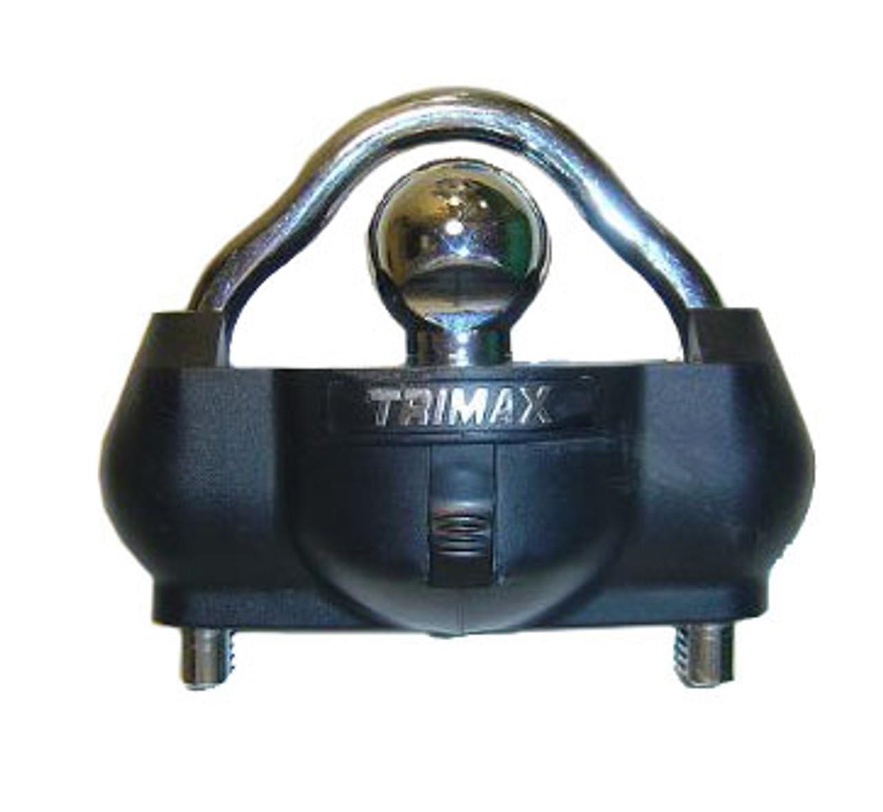 UMAX100KEYED --- Trimax™ Universal Trailer Coupler Lock - Keyed Alike